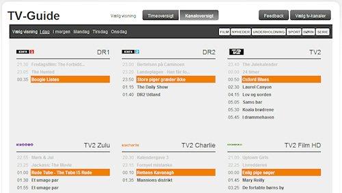 tv oversigten dk