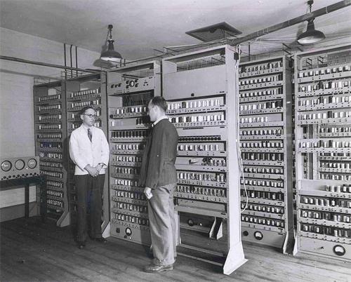den første computer i danmark
