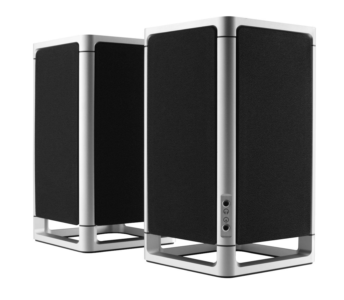 Kompakte stereohøjttalere fra Simple Audio - recordere.dk
