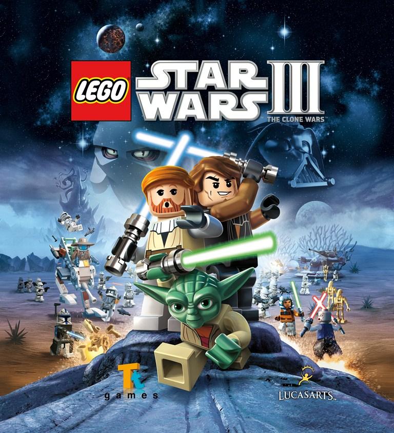 Lego-spil ud efter det andet. lego star wars 3 - the clone wars - er