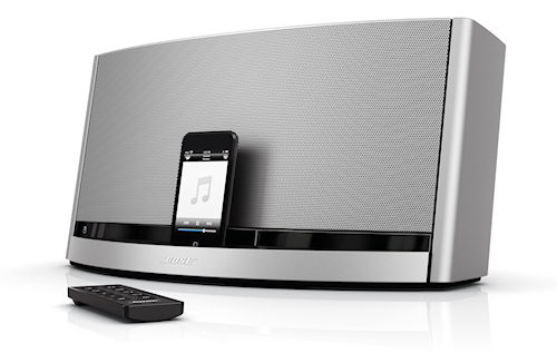 ny sounddock fra bose. Black Bedroom Furniture Sets. Home Design Ideas