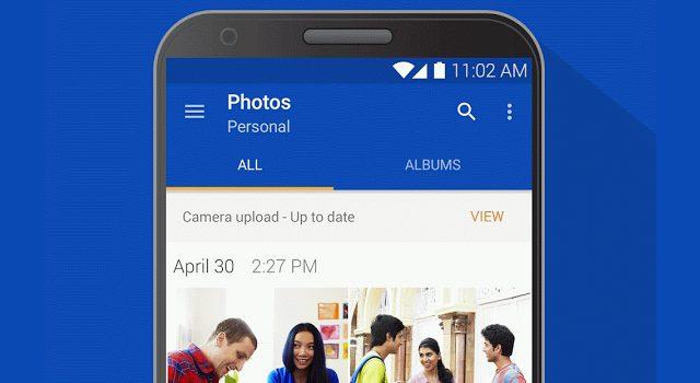 Onedrive Android app. med Chromecast understøttelse