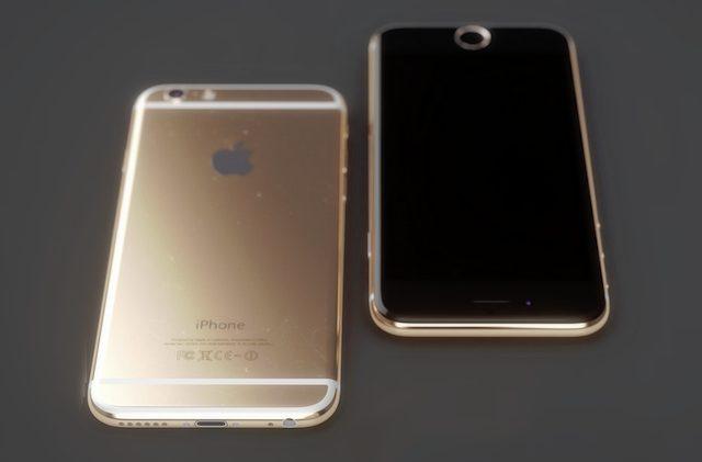iPhone 6s koncept i rose gold af designer Martin Hayek