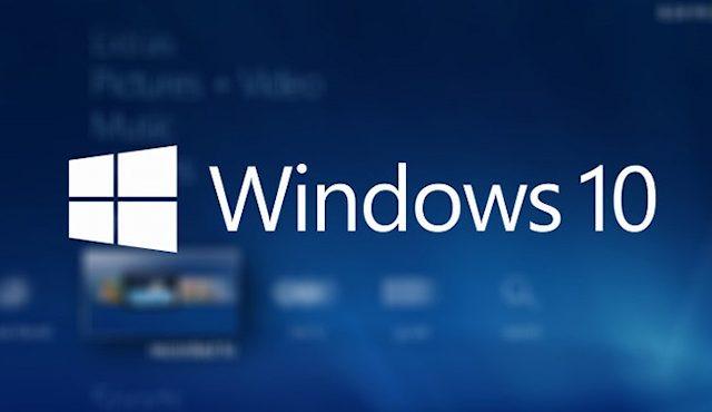 Windows 10 logo thumbnail stock