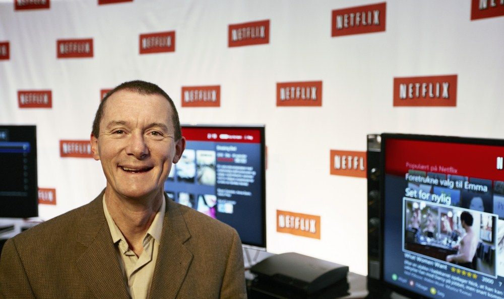 Niel Hunt, CTO Chief Technology Officer hos Netflix. Foto: Netflix