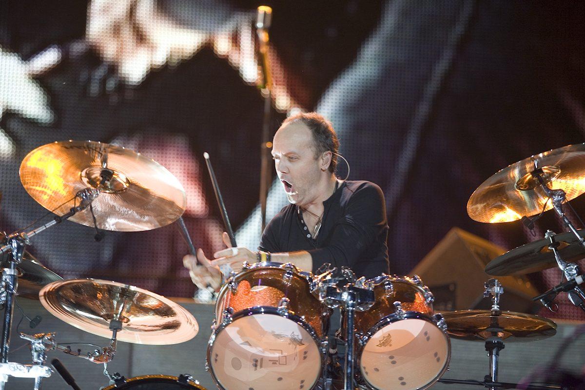 Lars Ulrich, Metallica. Foto: Ferenc Szelepcsenyi / Shutterstock.com