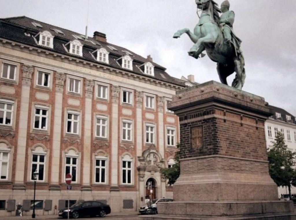 Johan Schlüter hovedsæde i København
