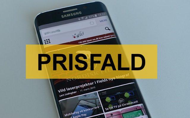 Samsung Galaxy S6 Edge prisfald