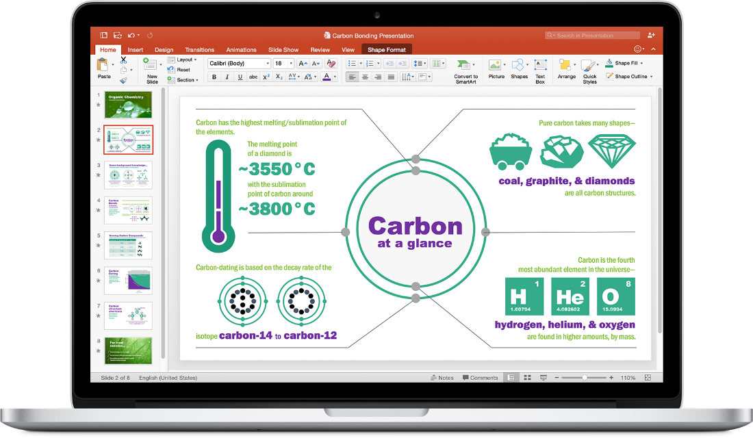 Office 2016 for Mac. PowerPoint