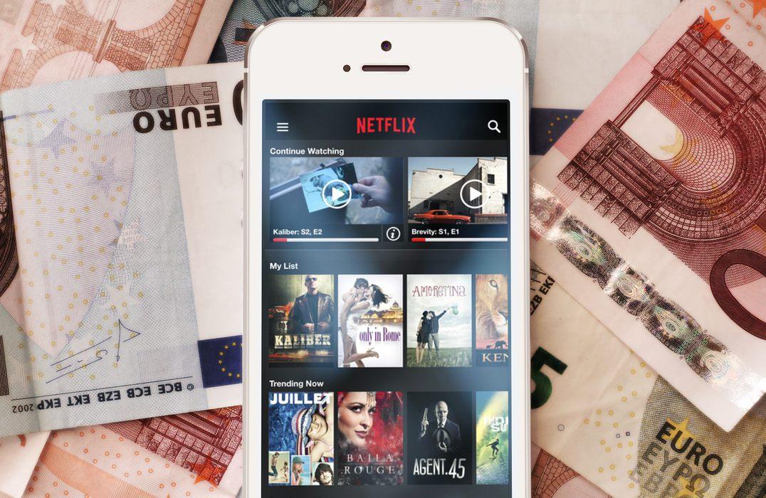 Netflix iPhone Euro