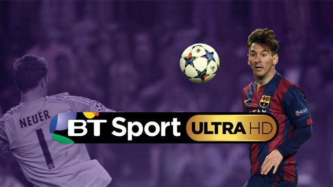 BT's UHD sportskanal
