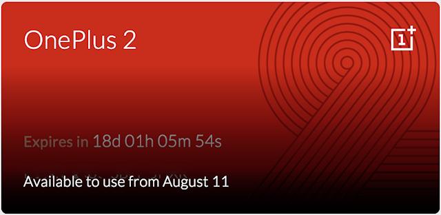 OnePlus 2 invitation invite