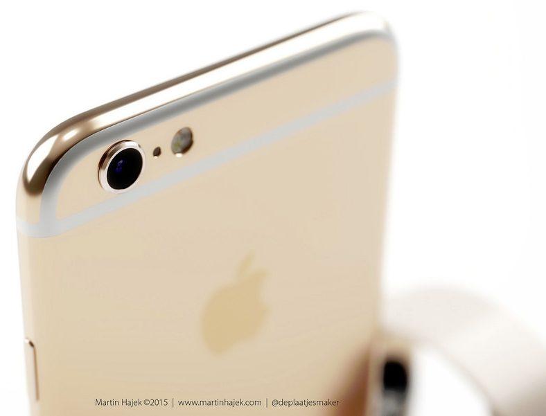 iPhone 6s rose gold koncept af designer Martin Hajek