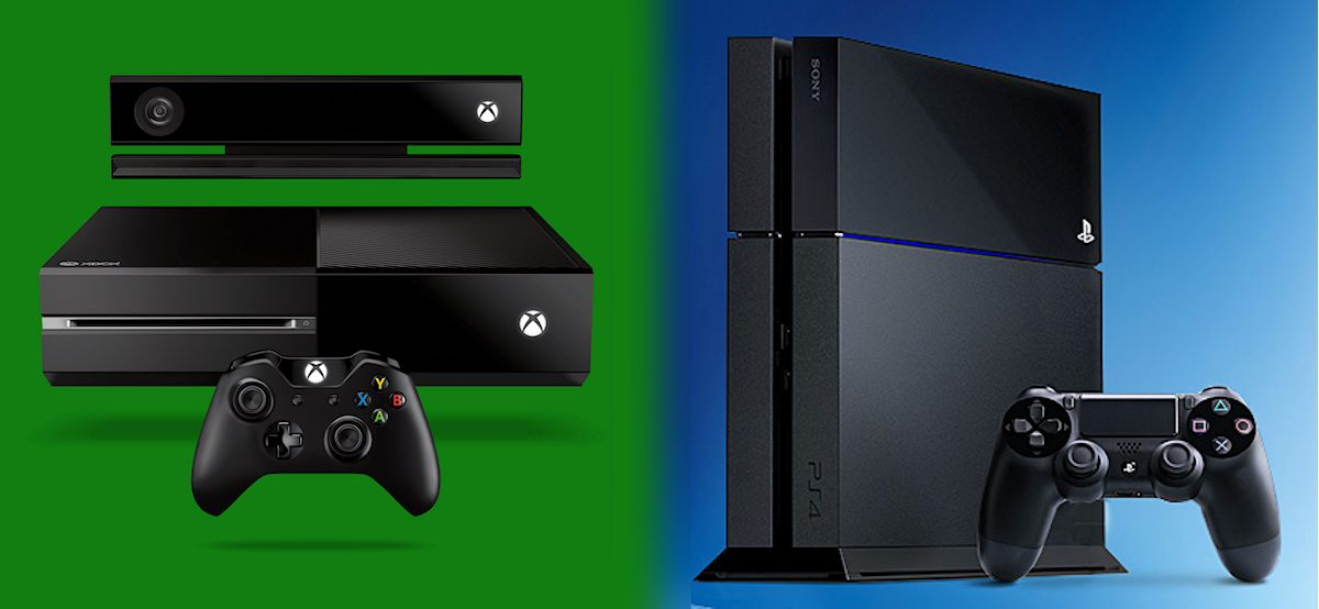 Xbox One vs. Sony PS4. Illustration: recordere.dk