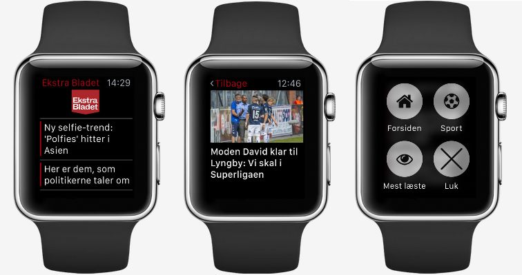 Ekstra Bladet Apple Watch