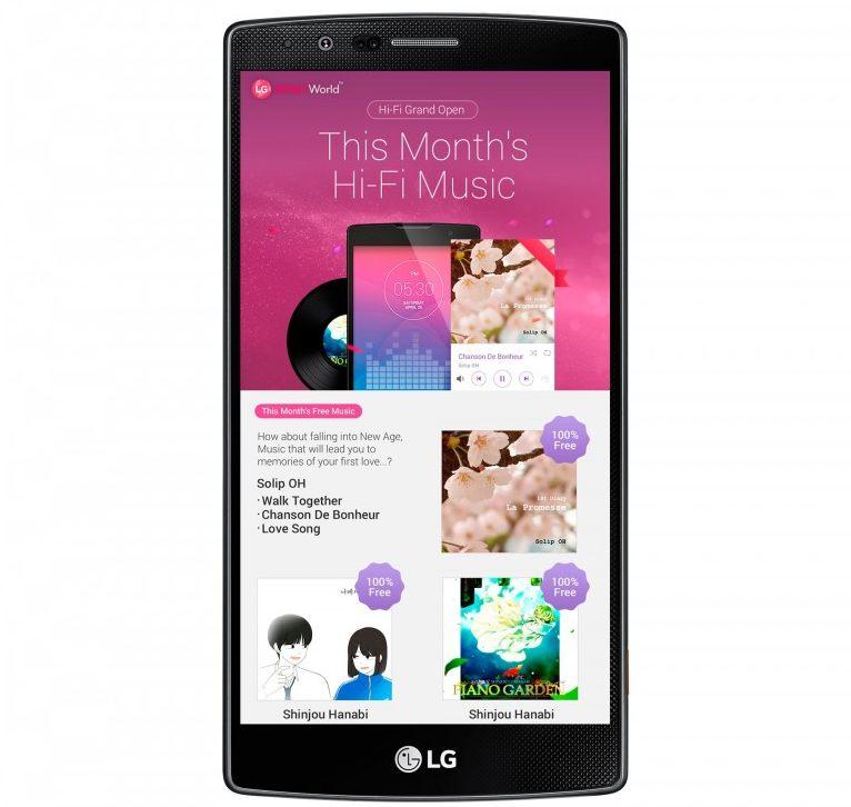 LG hi-res 24bit musik