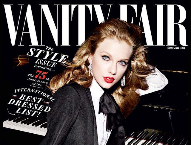 Taylor Swift er i magasinet Vanity Fair September 2015