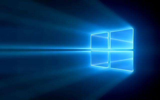 Windows 10 baggrund