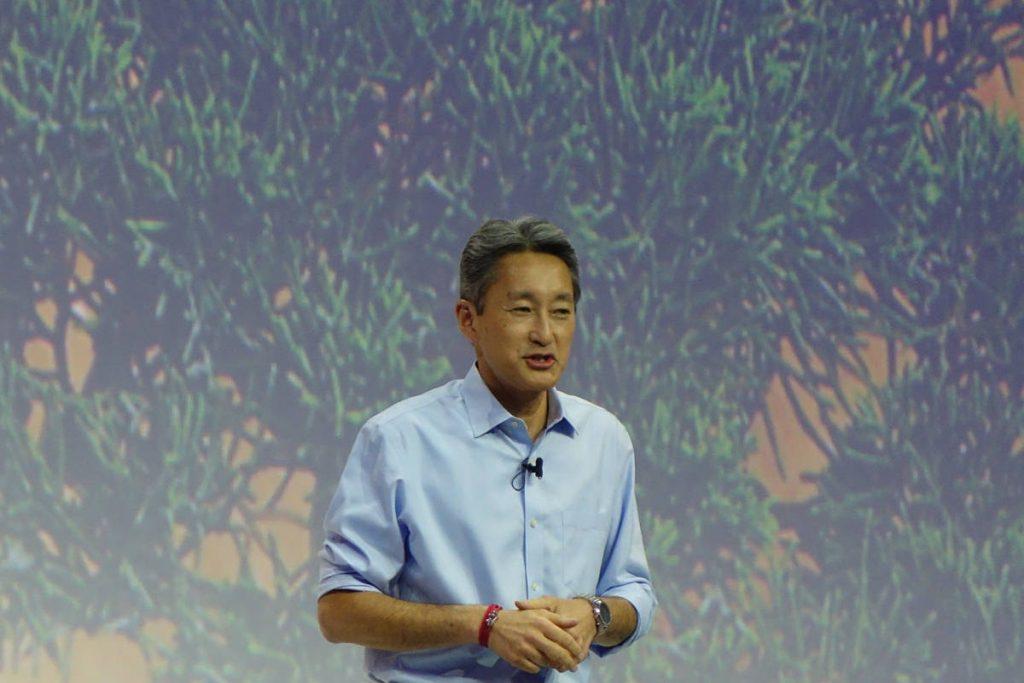 Sonys direktør Kazuo Hirai (foto: recordere.dk)