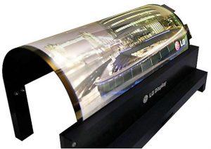 LG bøjeligt OLED