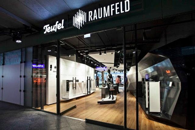 Teufel / Raumfeld butik i Berlin