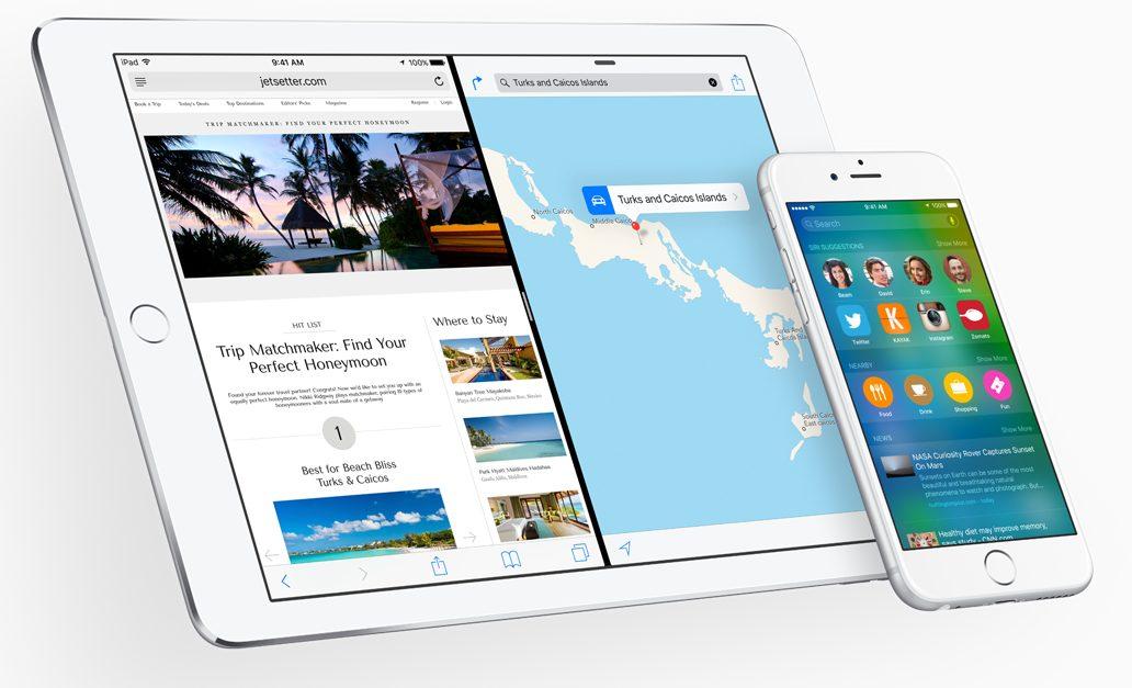 iOS9 splitscreen