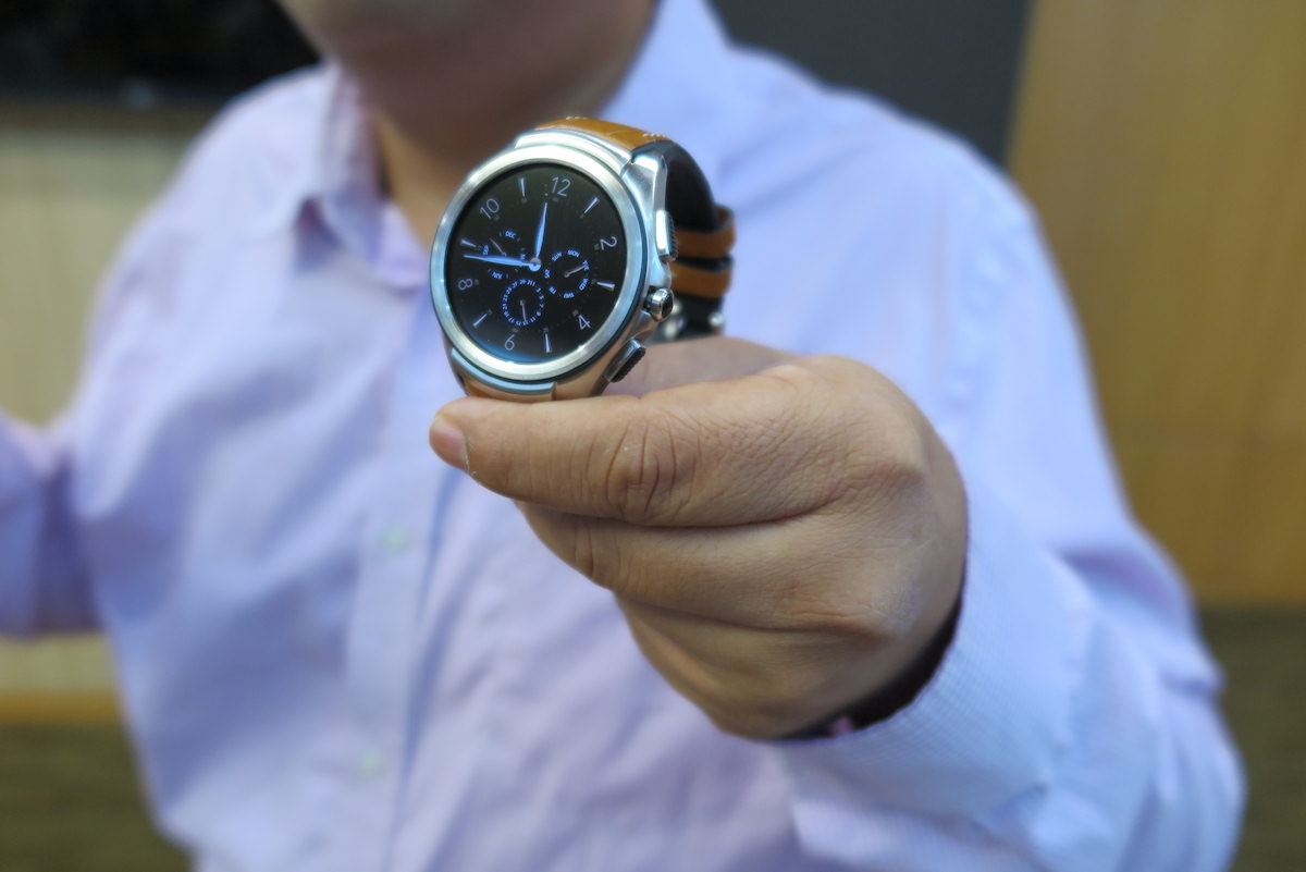 LG Watch Urbane 2nd edition. Foto: recordere.dk