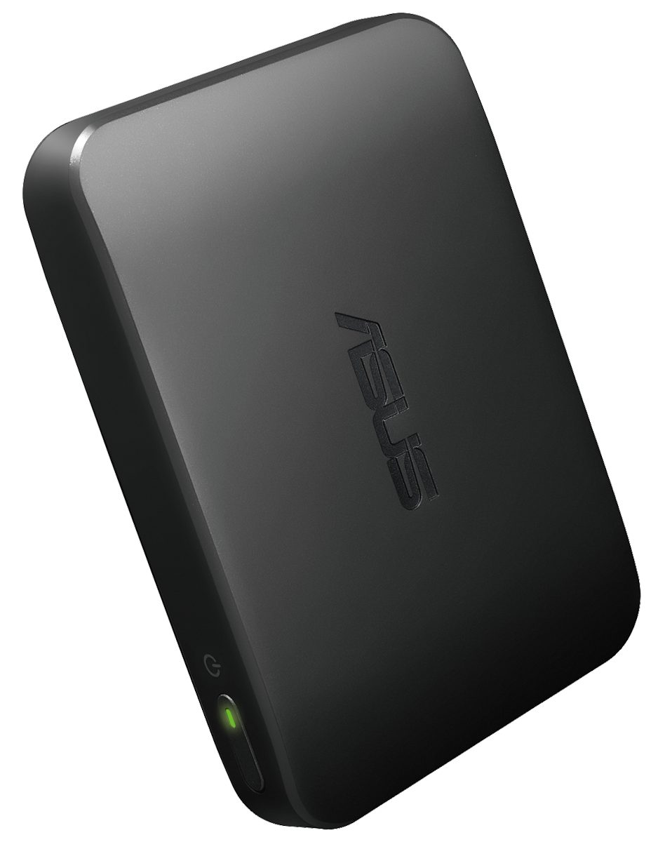 ASUS Clique R100 wireless music streamer_45 degree