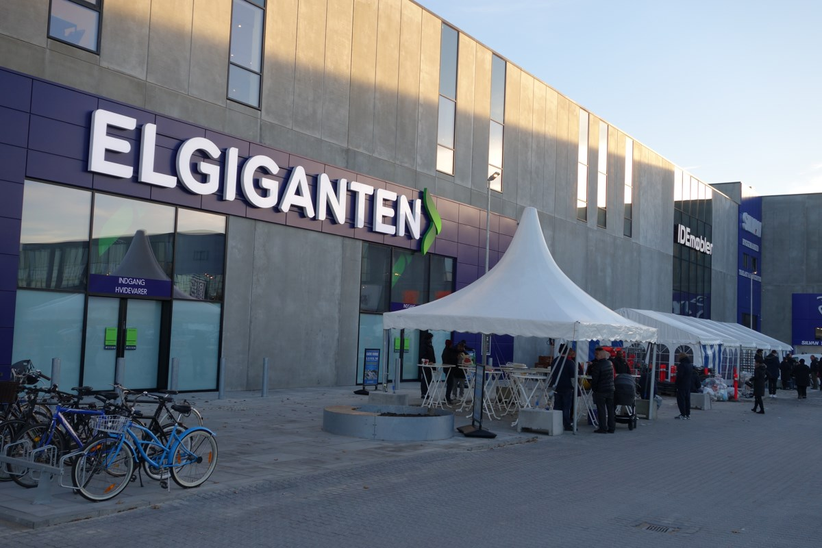 Elgiganten i BIG shoppingcenter Herlev. Foto: recordere.dk