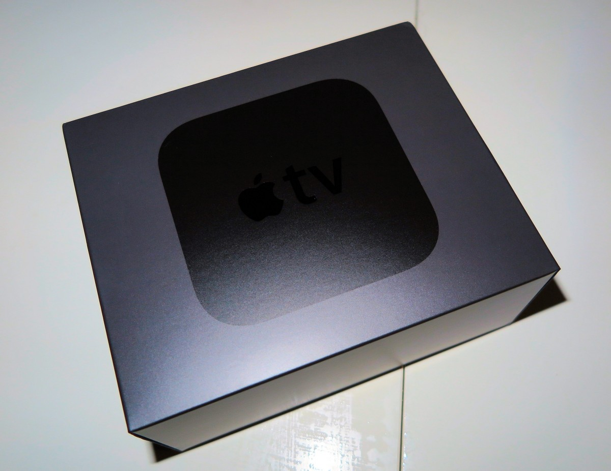 Apple TV embalage. Foto: recordere.dk