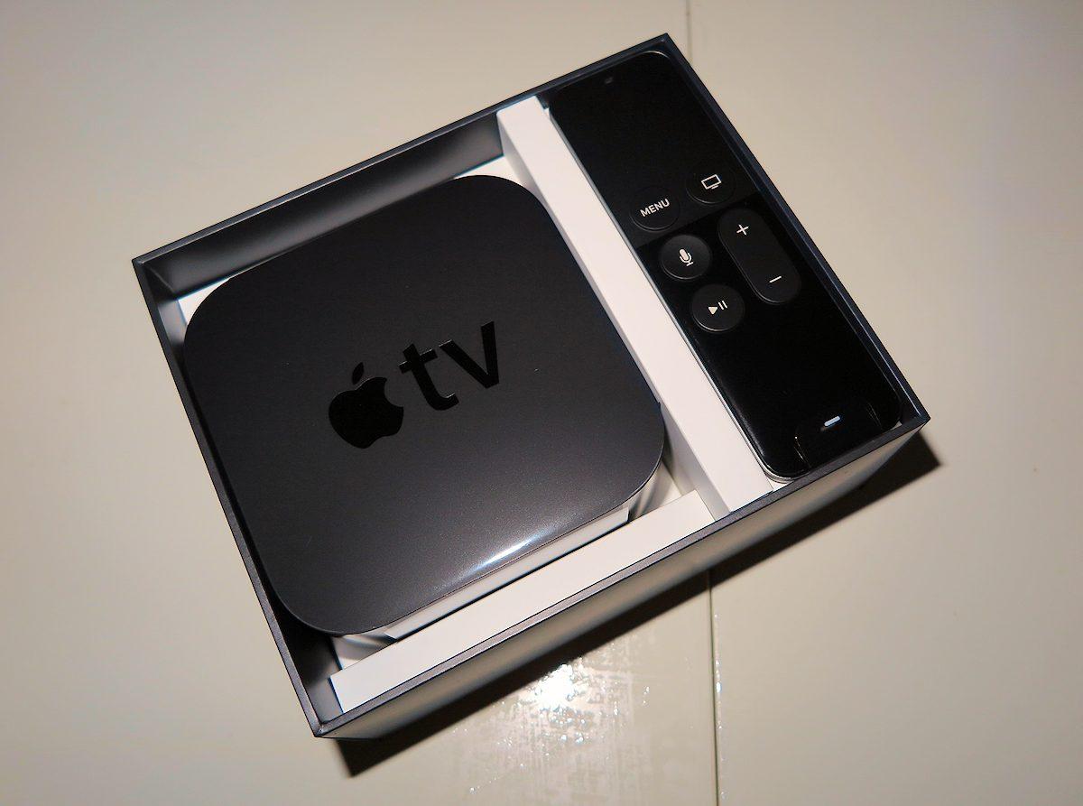 Apple TV kassen åbnes. Foto: recordere.dk