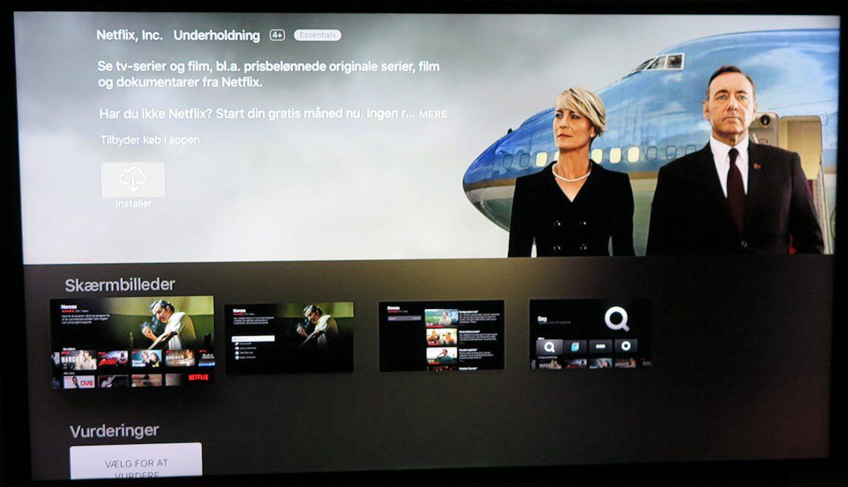 Installér Netflix app. Foto: recordere.dk