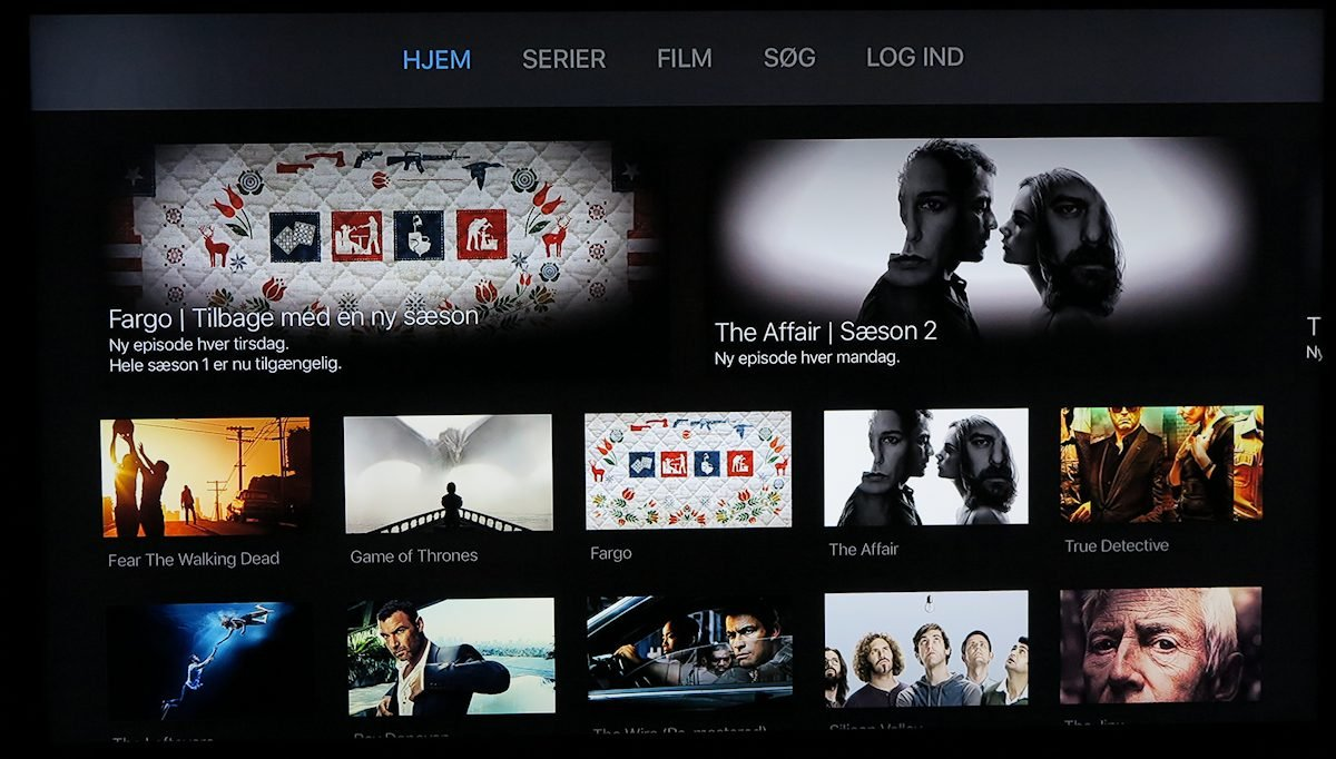 HBO Nordic på Apple TV. Foto: recordere.dk