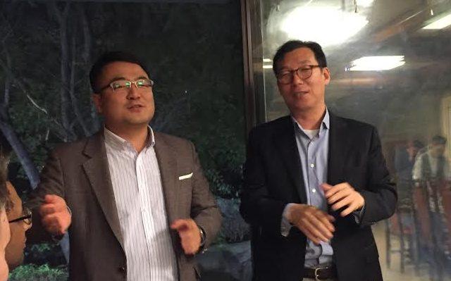 Chef for LG Media R&D, Mr. Hyun Seung Cha (t.h). Foto: recordere.dk