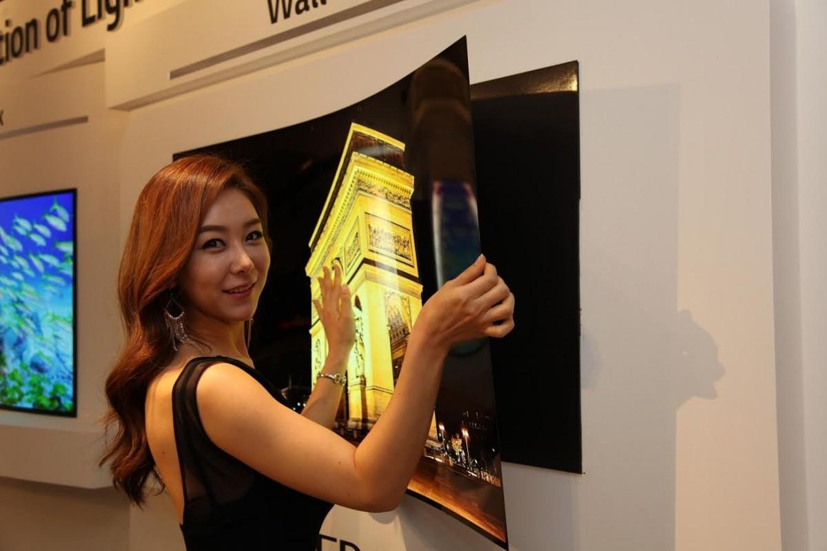 LG OLED Wallpaper TV. Foto: LG