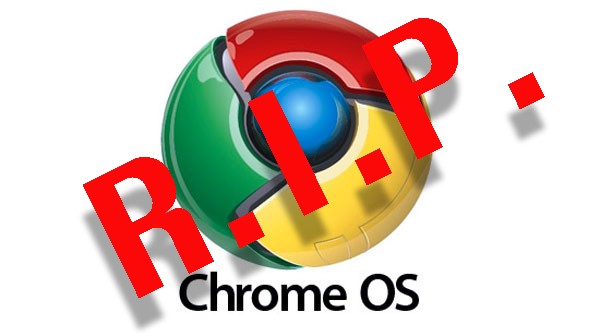 Google dropper Chrome OS - satser på Android - recordere.dk