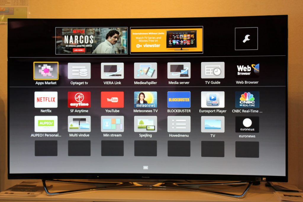 """Det nye """"gamle"""" Smart TV på OLED TV."""