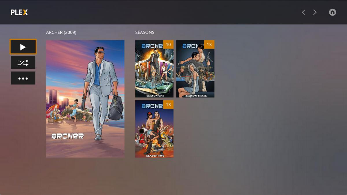 Plex Media Player - Shows