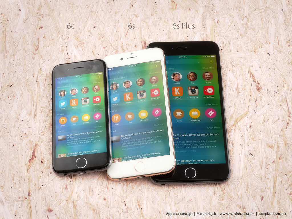 iPhone 6c koncept af Martin Hajek (martinhajek.com))
