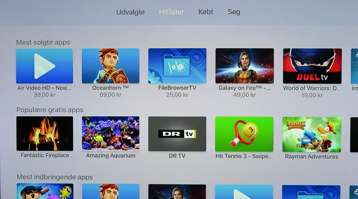 Apple TV 4 hitlister