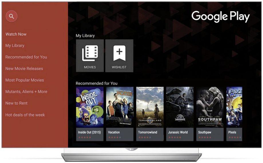 Google Play LG TV