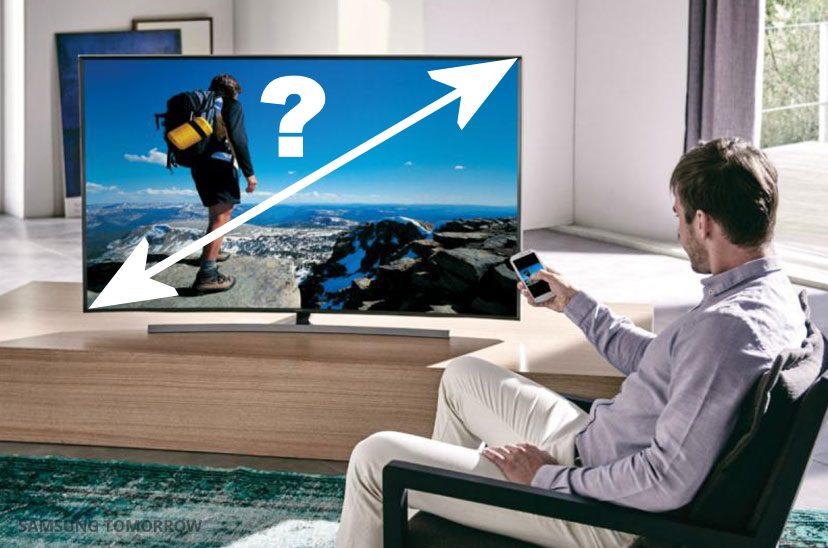 Hvilken skærmstørrelse? Foto: Samsung. Illustration: recordere.dk