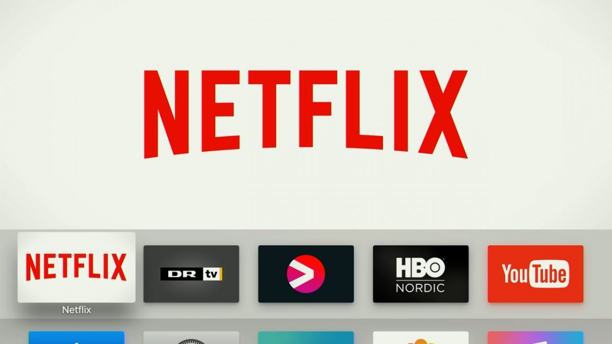 Apple TV 4 Netflix