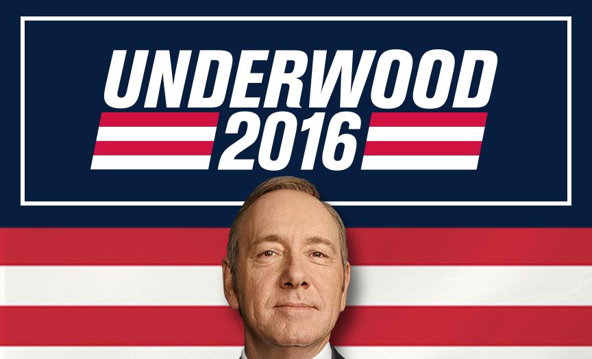 Frank Underwood og House of Cards er tilbage
