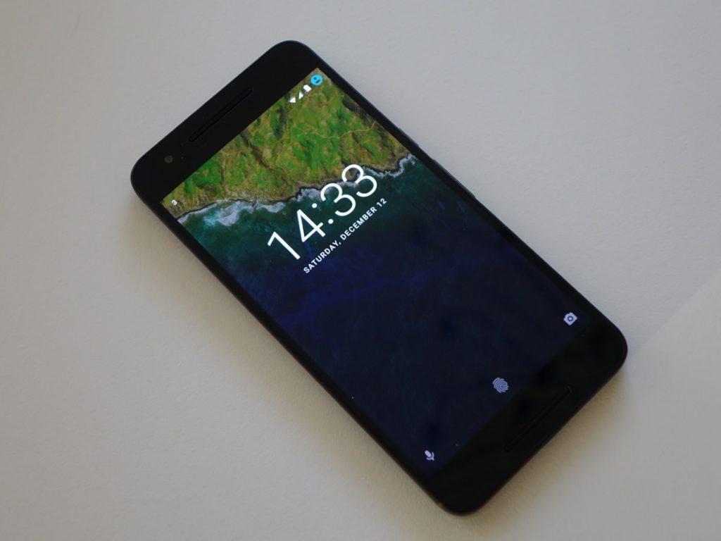 Google Nexus 6P fra Huawei. (foto: recordere.dk)