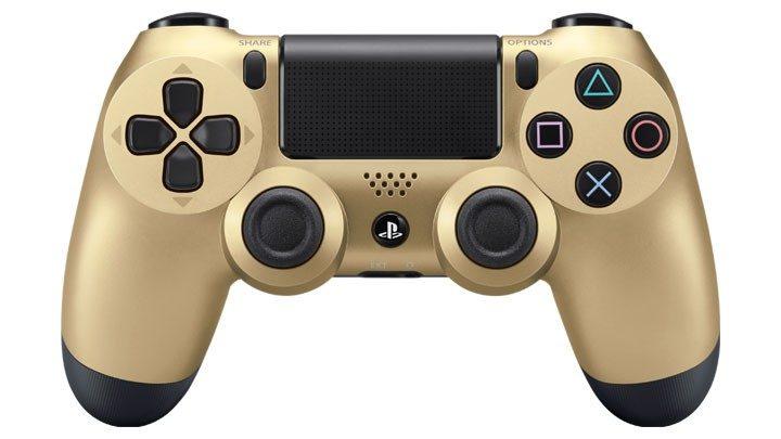 PS4 Golden Controller