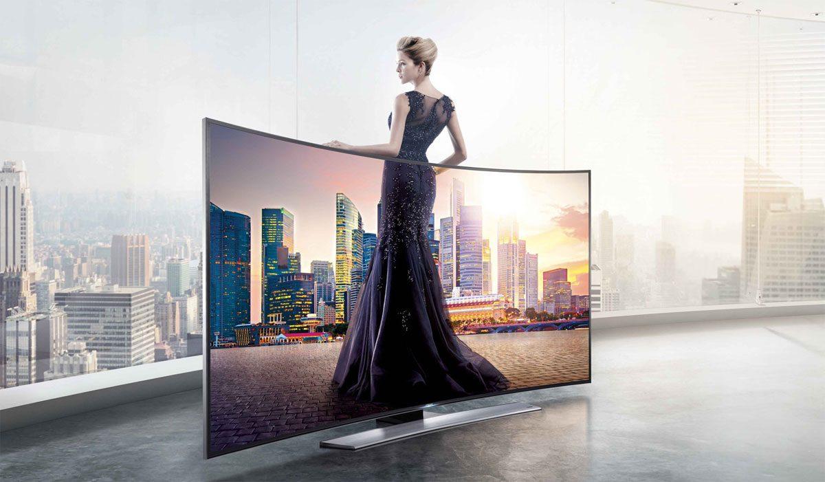 Samsung buet curved 4K UHD TV