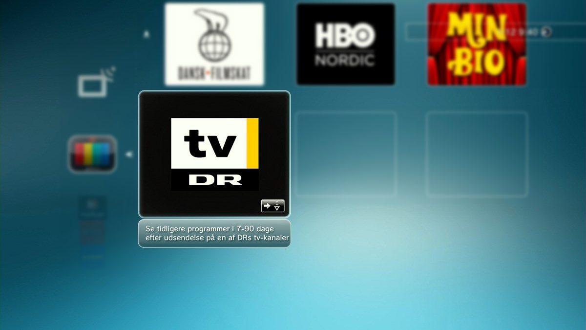 DR TV PlayStation 3 og 4