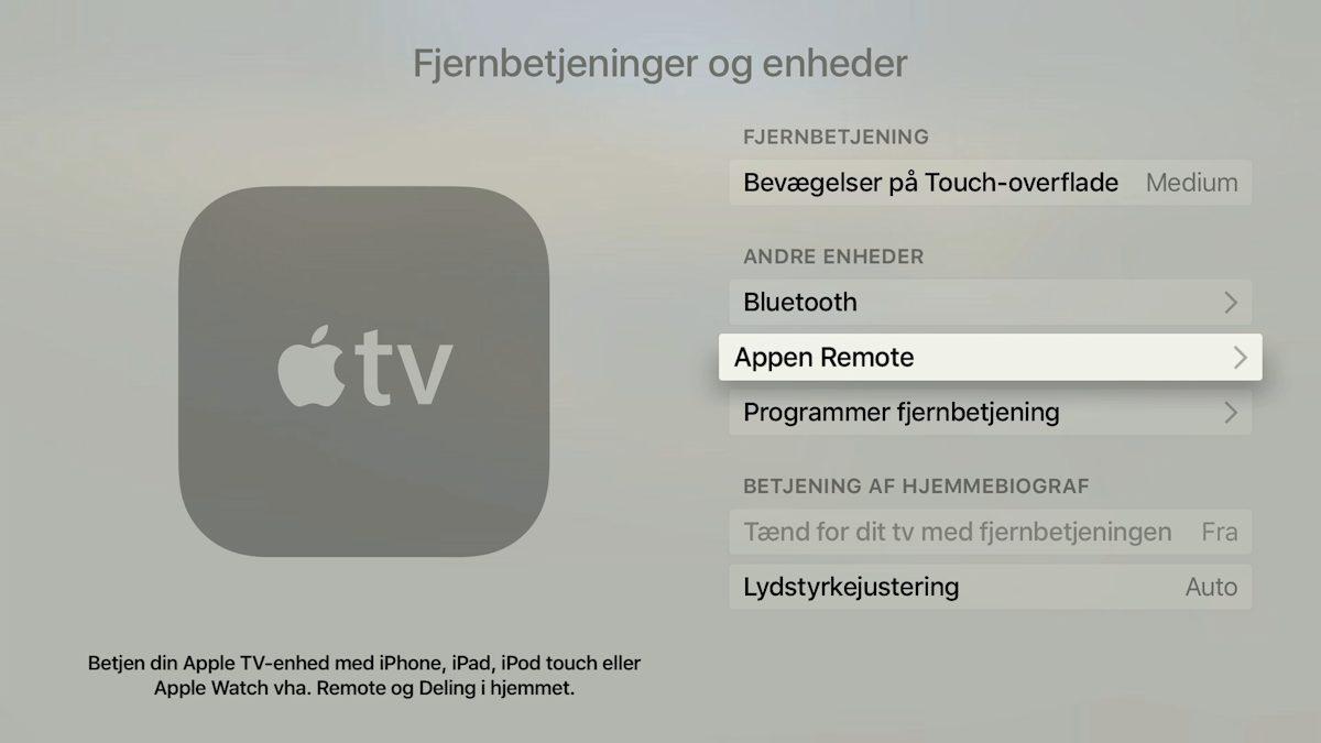 Apple Watch Remote Apple TV