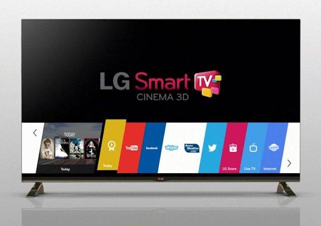 LG WebOS 2.0 (billedet) erstattes snart af 3.0
